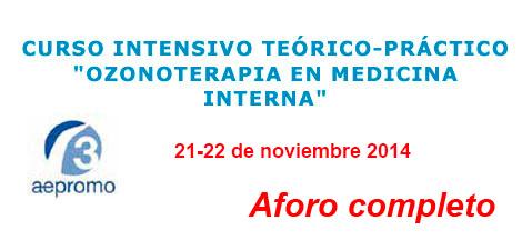 Curso Ozonoterapia en Medicina Interna
